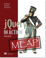 jQuery in Action by Bear Bibeault and Yehuda Katz